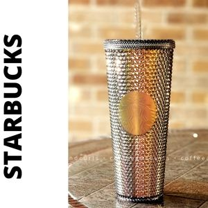 Starbucks Black Iridescent Studded Venti Cold Cup